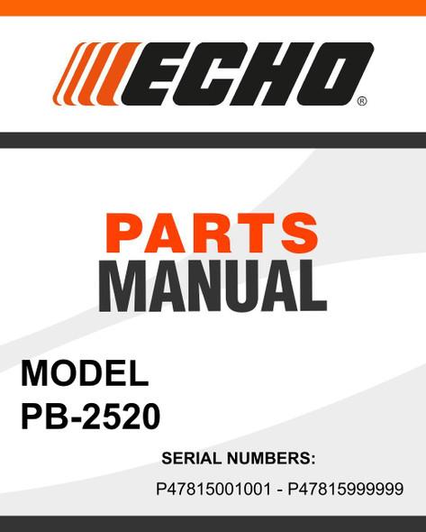 Echo-PB-2520-owners-manual