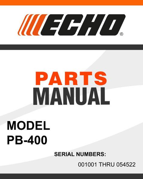 Echo-PB-400-owners-manual