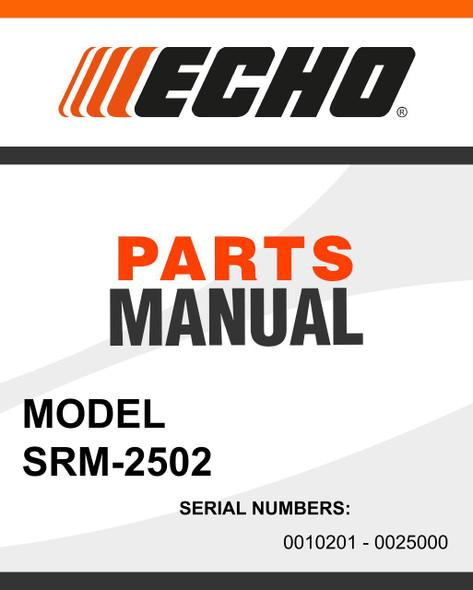 Echo-SRM-2502-owners-manual