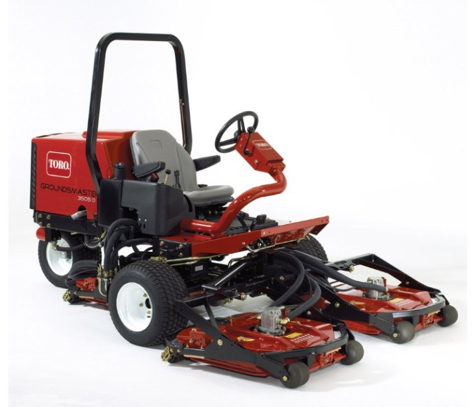 TORO Groundsmaster 2500D, 3505D and 5500D Parts