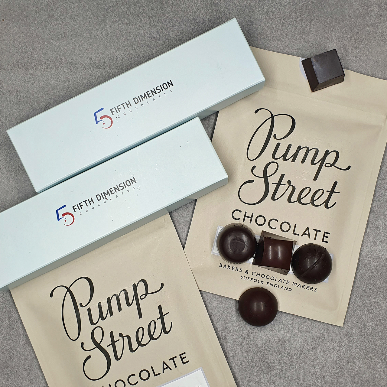 Pump Street Chocolate Collection Limited Edition 5 Chocolates