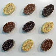 ​A Trio of Salt Caramel Chocolates