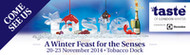 Ticket Offer to Taste of Winter (Tobacco Dock, London)
