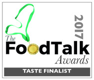 We're a Finalist at the FoodTalk Awards 2017