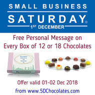 Small Business Saturday UK 2018 Offer : Free Personalised Message