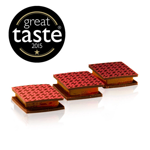 Raspberry Pâte de Fruits Chocwich (Pack of 3)