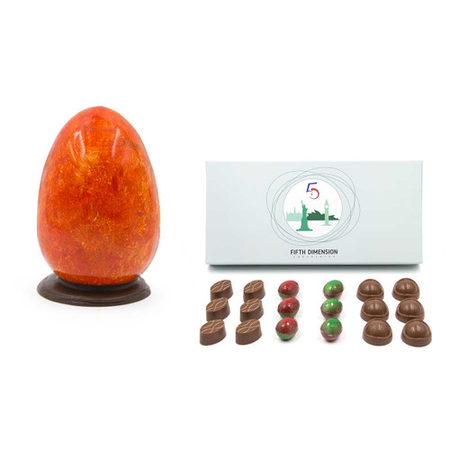 Easter Special offer 50% Milk Chocolate Colombian Egg