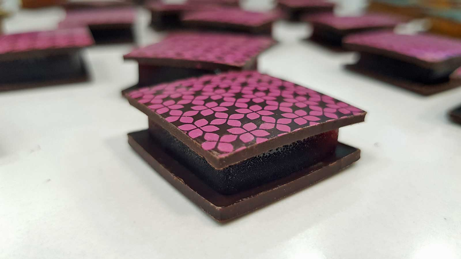 Chocwich - The Chocolate That Thinks It's A Sandwich - Product Unique to Fifth Dimension Chocolates
