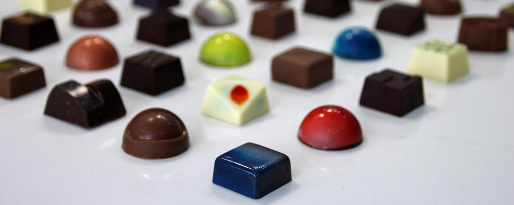 Make your own chocolate selection