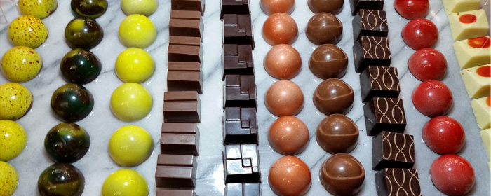 Display for Pick Your Own Chocolates