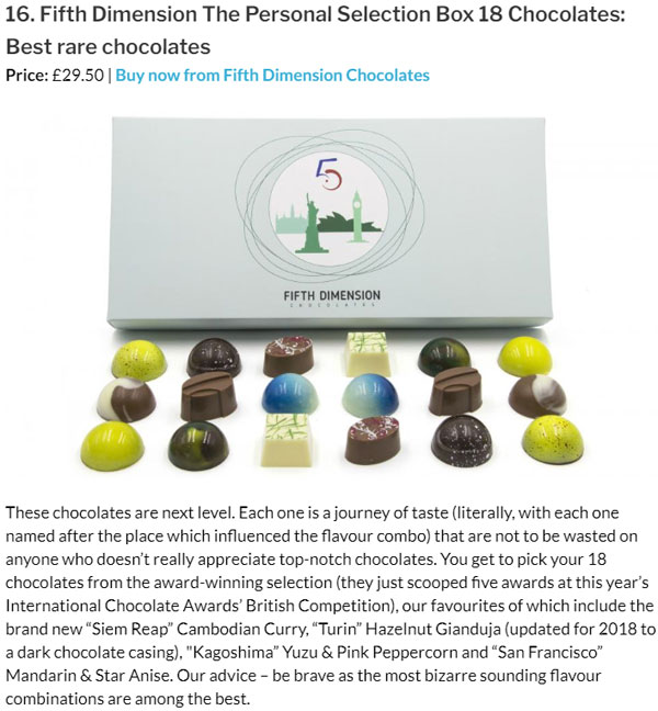 Expert Reviews - Best Chocolates 2018 - Best Rare Chocolates