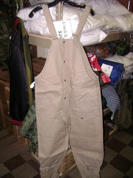 Czech Canvas Overpants/Bibs (New)
