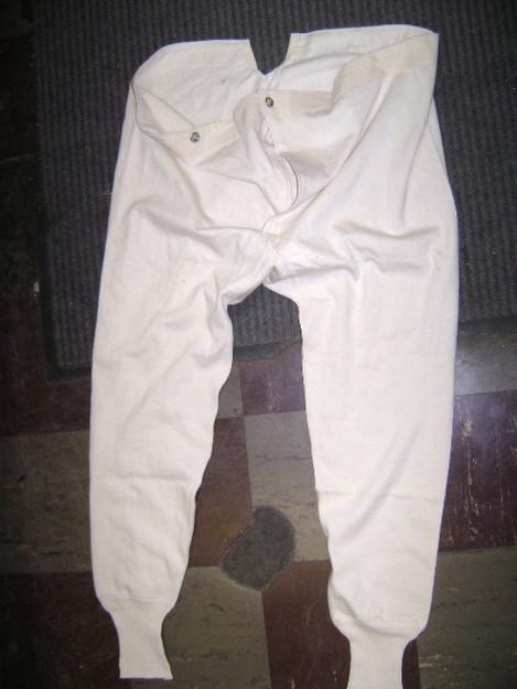 Swedish Military Cotton Long John Bottoms