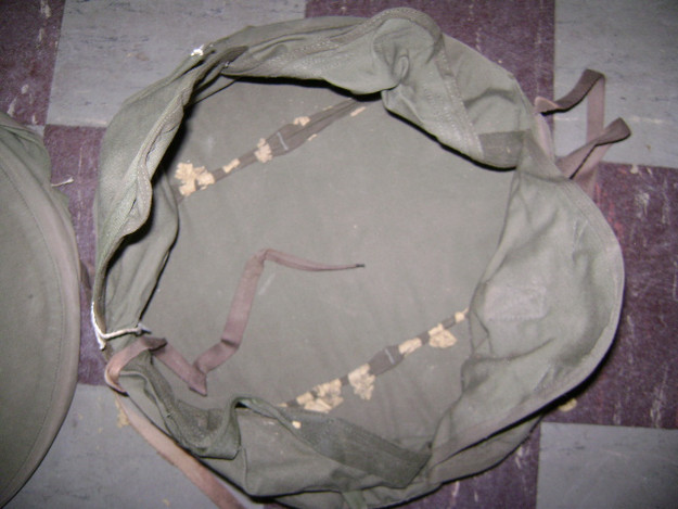 U.S. Army WWII Cylinder Parachute Pack