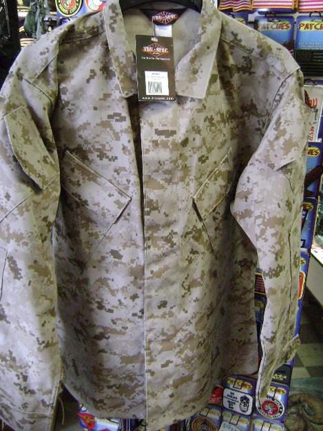 Men's Tru-Spec BDU Shirt (Desert Digital)