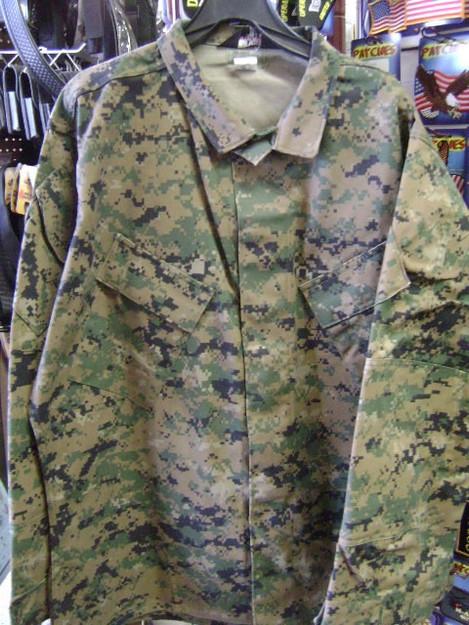 Men's Tru-Spec BDU Shirt (Green Digital)