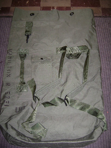 U.S. Military Top Load Duffle Bag
