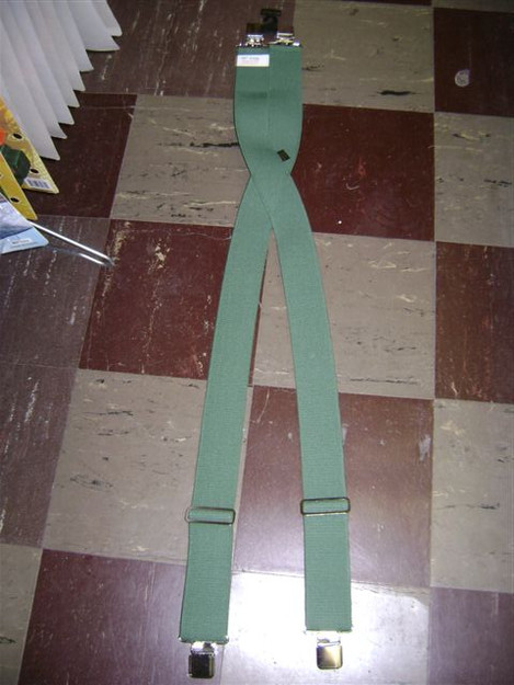 "2"" Suspenders with Clip End"