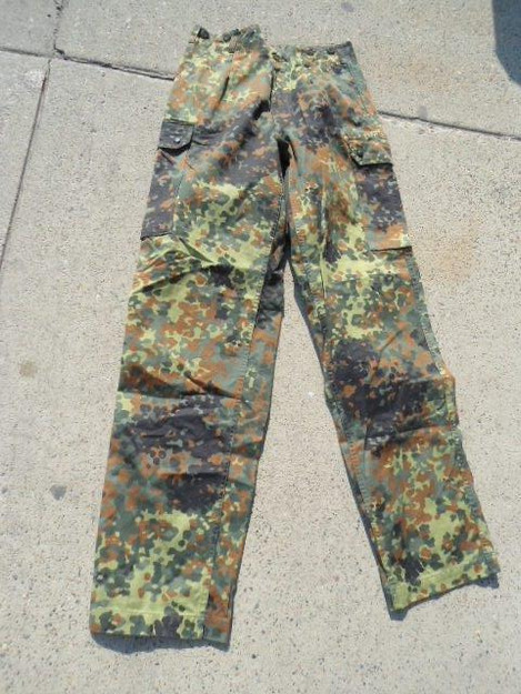 German Army Flectarn Camouflage Pants