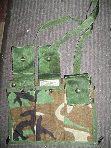 U.S. Army MOLLE System M-16 Bandoleer