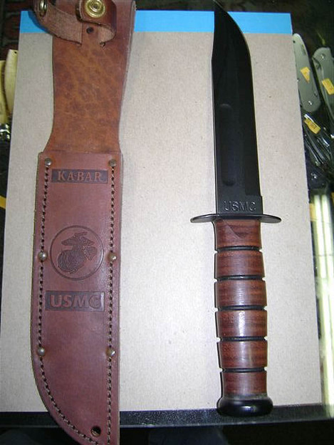 U.S. Marine Corps 'Full-Size' Ka-Bar Knife