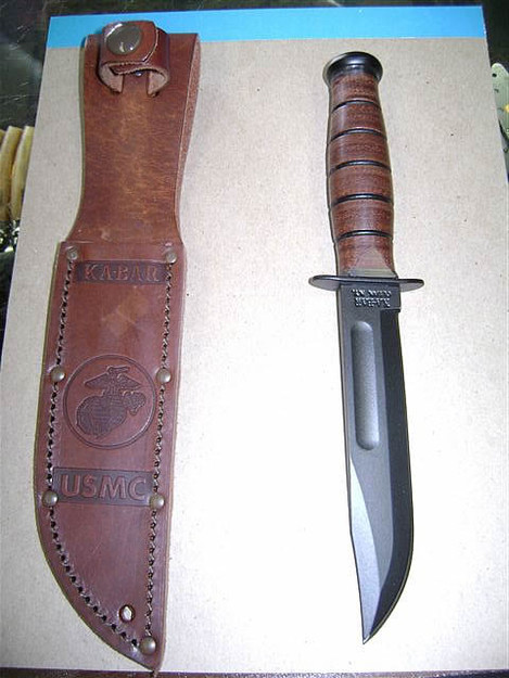 U.S. Marine Corps 'Short' Ka-Bar Knife