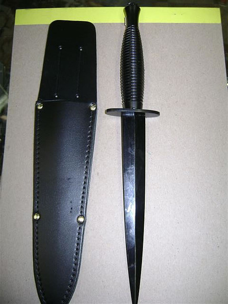 British Fairbairn Sykes Commando Knife
