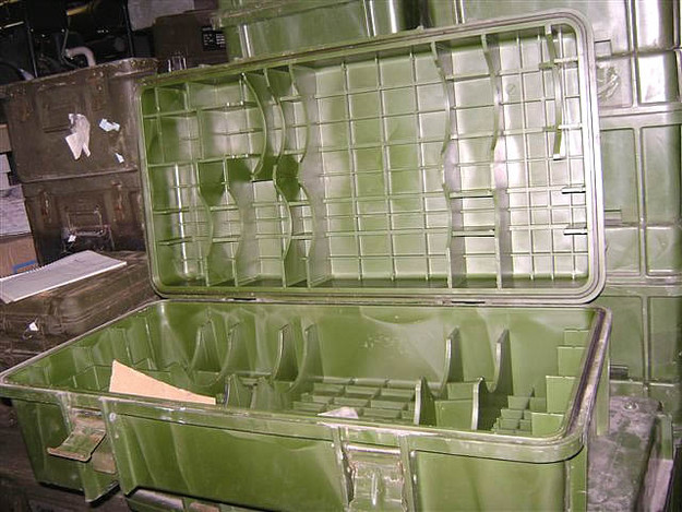 Chinese Military Shovel Box (empty)