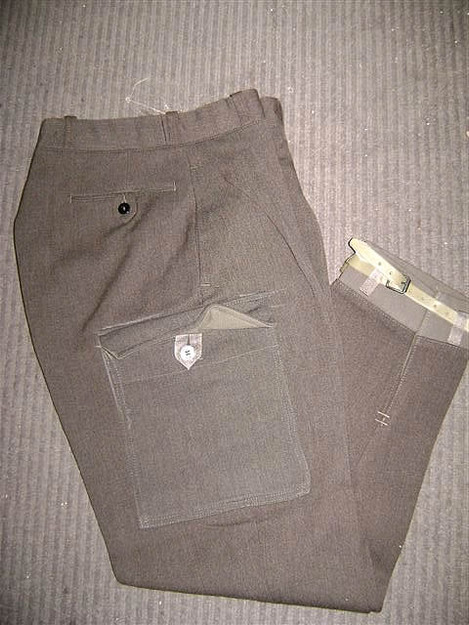 Swedish Military Wool Pants  for Upland Hunting