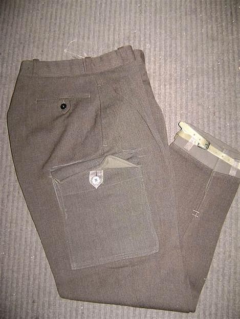 Swedish Military Wool Pants  for Upland Hunting