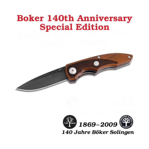 Boker Supreme 140th Anniversary May Special Edition