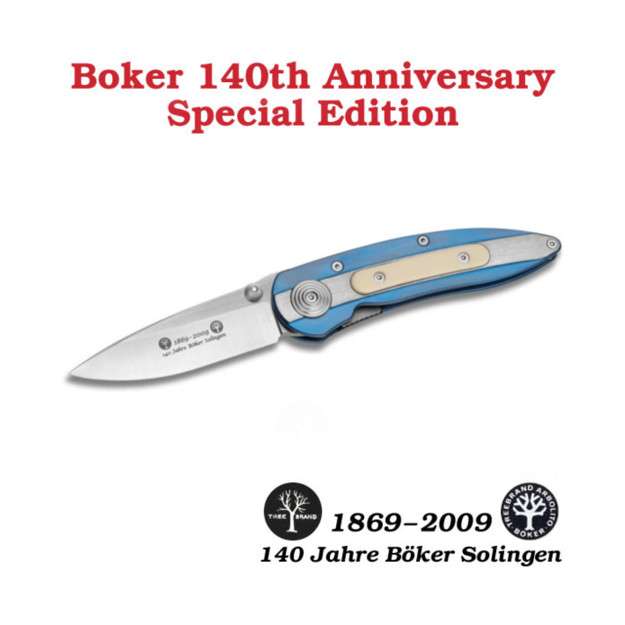 Boker Zirconia 140th Anniversary September Special Edition