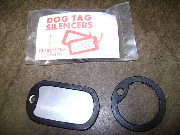 Dog Tag Silencers (Pack of 10 Pairs)