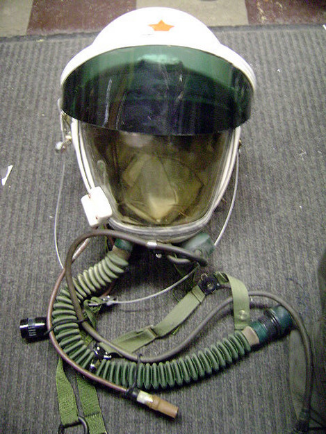 Chinese TK-1 High Altitude Flight Helmet