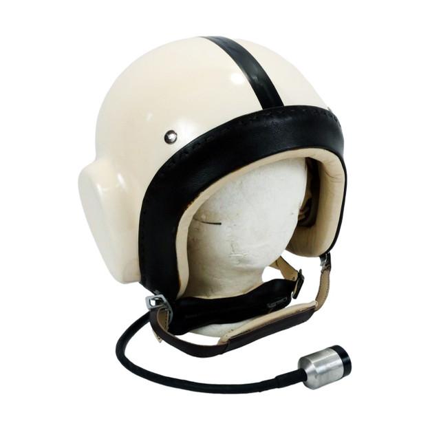 Helicopter helmet - front
