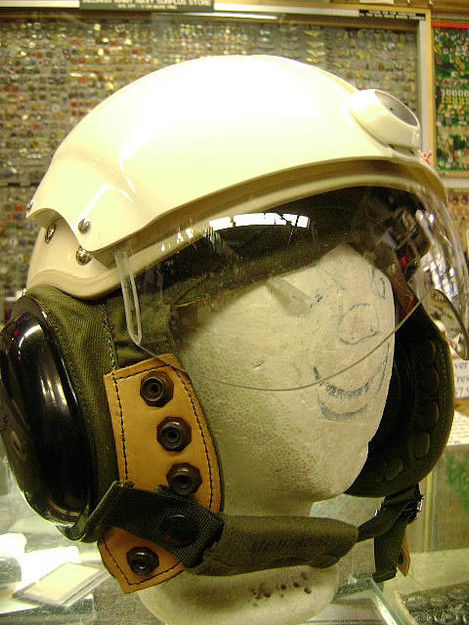 Canadian Air Force Flight Helmet (New, Dated 1987)
