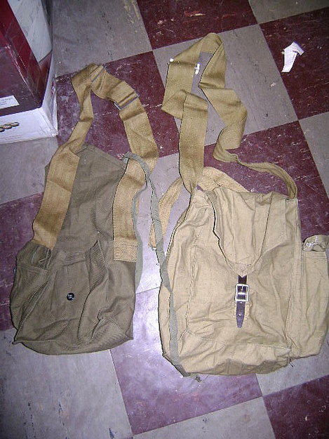 Russian Military Gas Mask Bag