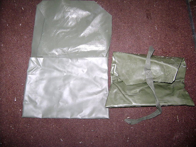 Rubberized Nylon Storage Bag