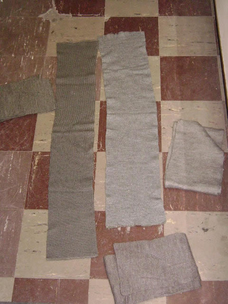 Swedish Military Wool Scarf