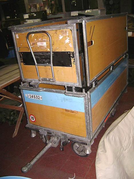 Swiss Military Postal Wagon