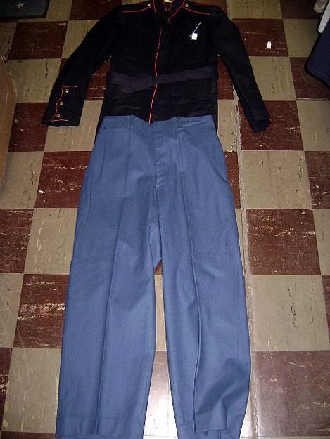 U.S.M.C. Korean War Area Dress Blue Uniform