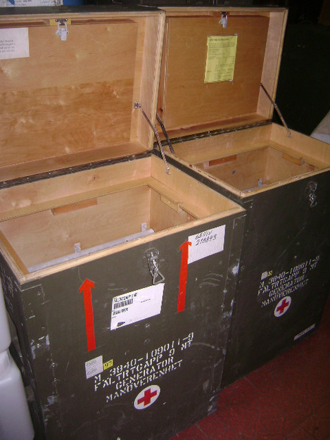 German Military Storage/Generator Box