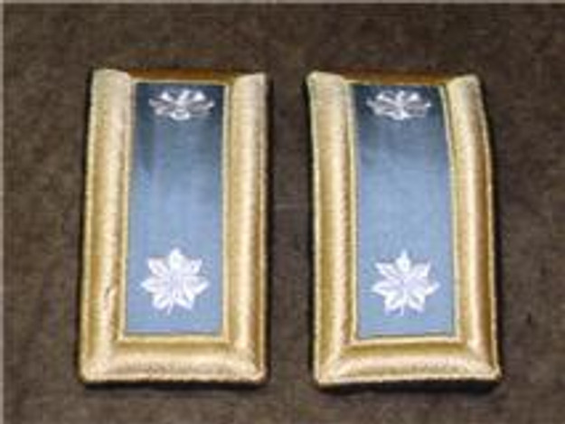 U.S. Army Lt. Colonel Shoulderboards