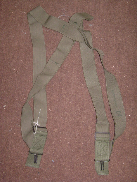 U.S. Military Field Pant Suspenders