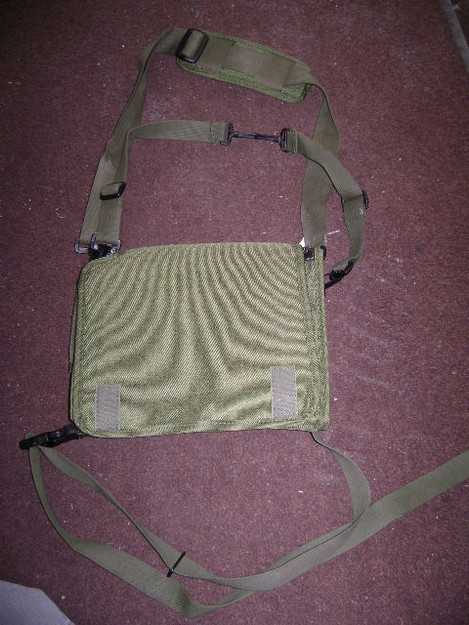 British Military Nylon Radio Pouch (radio not included)