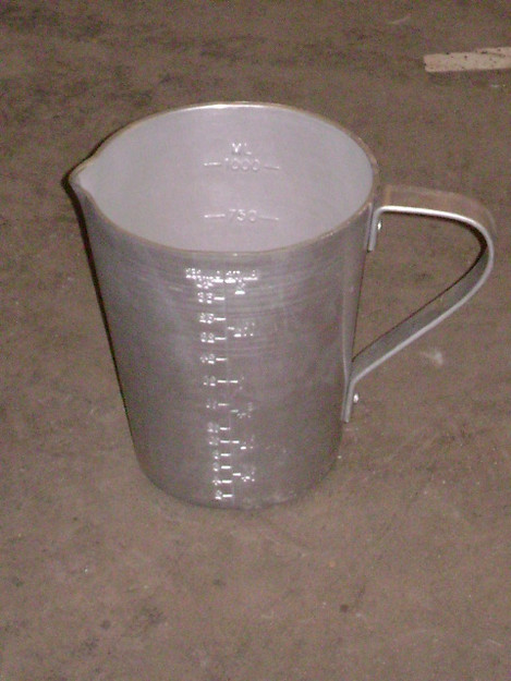 British Military Aluminum Measuring Cup