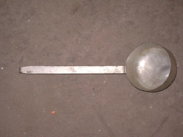 "13"" Metal Ladle/Drinking Utensil"