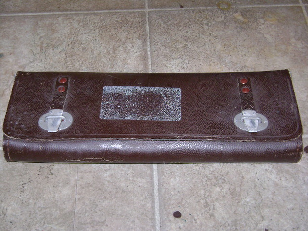 East German Military Instrument Case