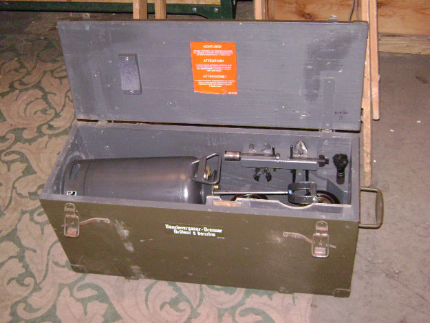 Swiss Military Pressurized Double-Burner Stove