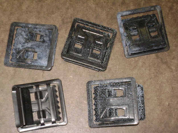U.S. Military Open Face Buckles